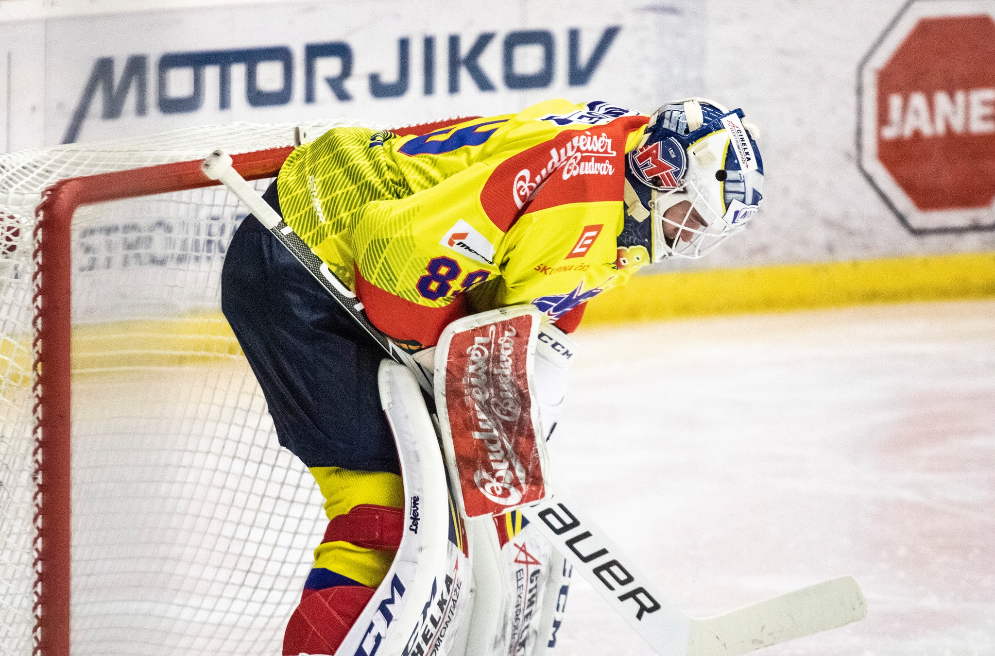 hokej Motor brankář