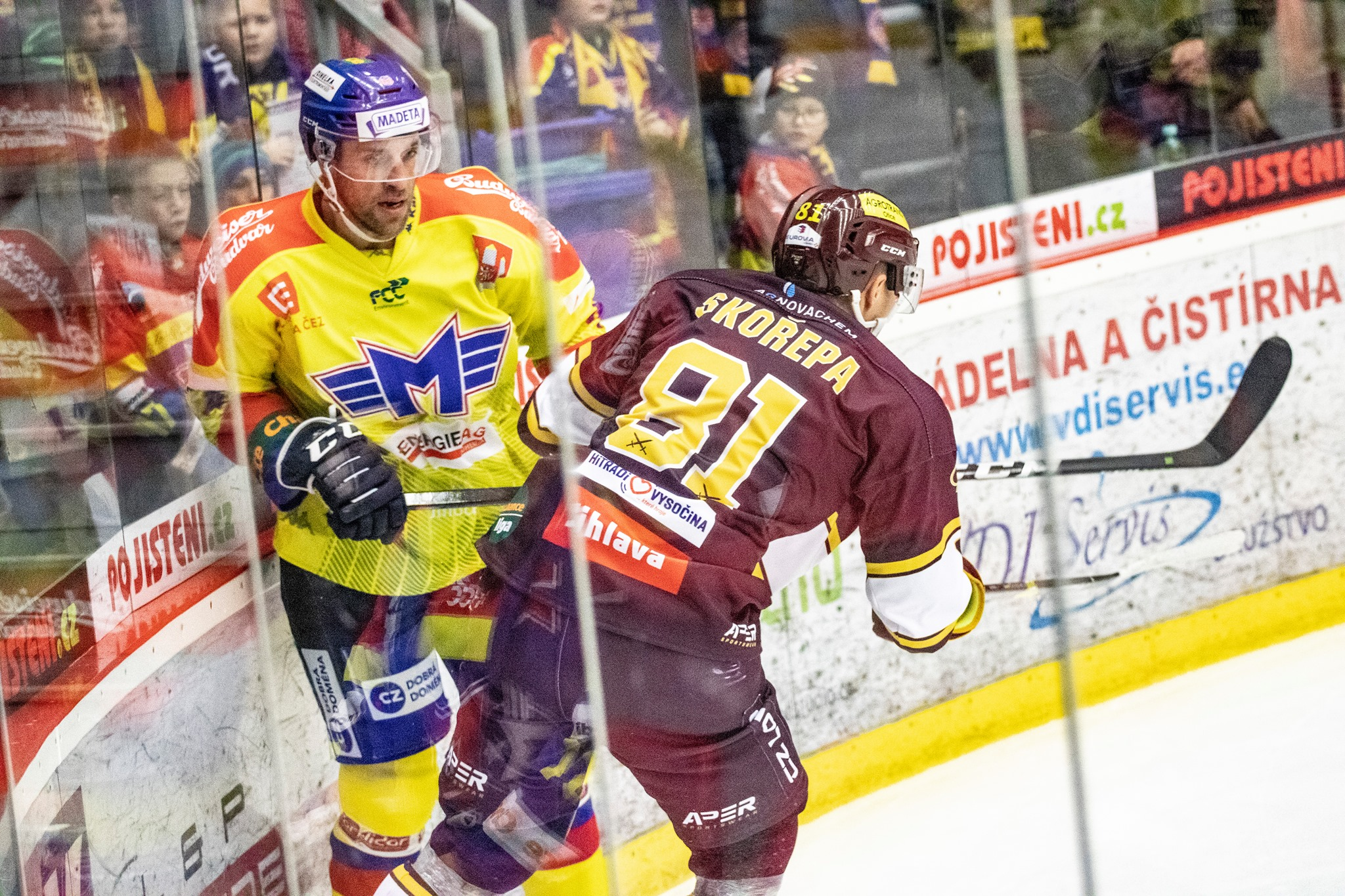 hokej Motor Jakub Suchánek